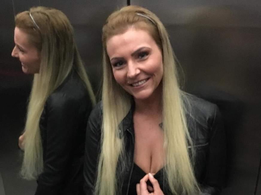 unterfranken blondes mädl